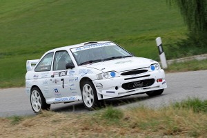 Grübl-Wallner auf Ford Escort Cosworth